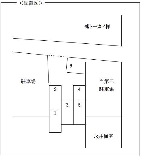 堀田第13駐車場-配置図